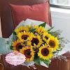Rangkaian Bunga Tangan Matahari HB003