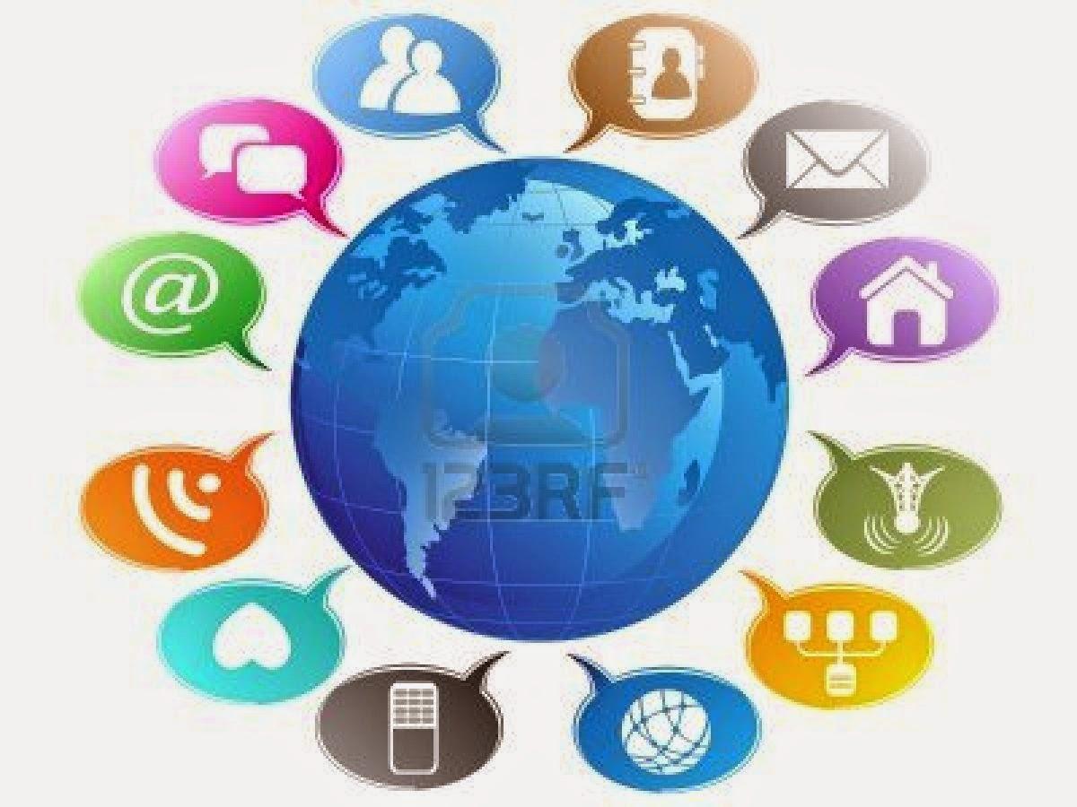 Communicating using social media