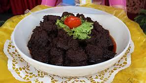 resep rendang daging sapi kering khas padang