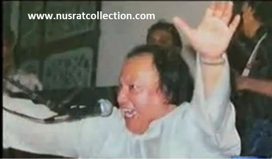 Lyrics Mere Mann Ka Raja Mera Dhol Mahi Qawwali by Nusrat Fateh Ali Khan