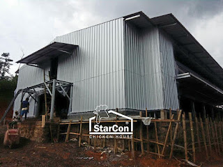 Kandang Ayam Closed House Starcon