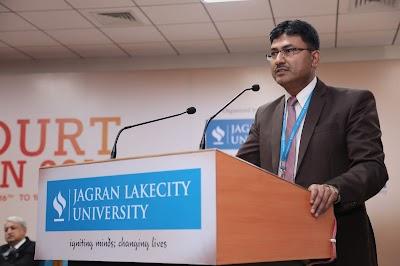Through the lens of Dean Student Welfare: Prof. (Dr.) Yogendra Srivastava, Director, JLU School of Law!