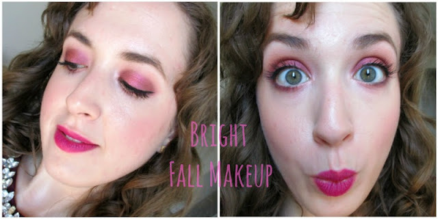 Tutorial: COOL TONES | Bright Cranberry-Red Fall Transitional Makeup