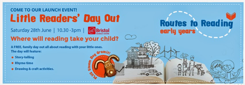 Routes To Reading - Little Readers' Free Day Out Bristol