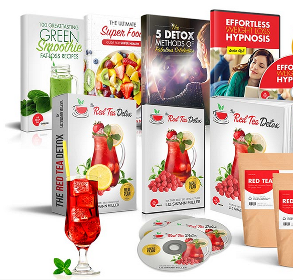 Red Tea Detox 365 Fat-Burning System