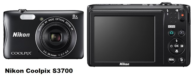 Nikon Coolpix S3700 - cheap but capable digital camera
