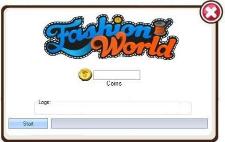 FASHION WORLD COIN ADDER GENERATOR (FACEBOOK) NO SURVEY