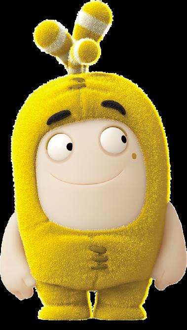 Kumpulan Gambar Oddbods Film Kartun Lucu Bubbles Animasi Antv Kuning