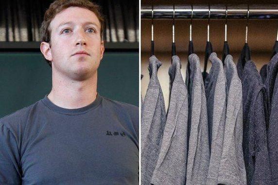 Marck Zuckerberg - Garde-robe