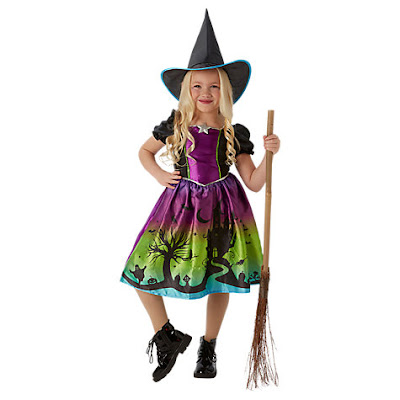 Childrens witch costume John Lewis