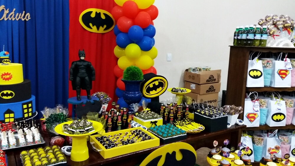 Festa infantil Batman vs. Superman