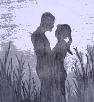 Pencil Sketches & Painting : Valentine Day