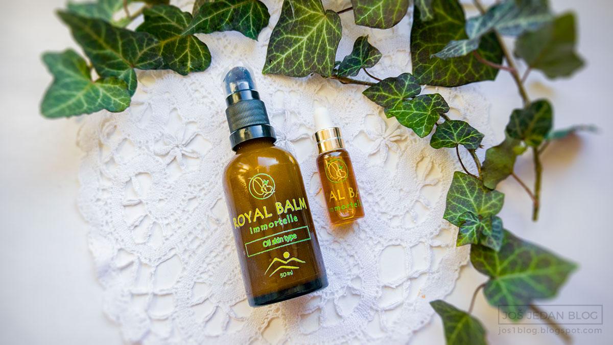 Royal Balm prirodna kozmetika, recenzija, utisci, cena, sastojci, Royal balm krema za masnu kožu, Royal balm serum za masnu u mešovitu kožu