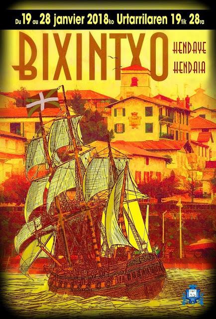 Fêtes de la Bixintxo à Hendaye 2018
