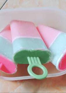 Cara membuat es gabus dari agar agar yang enak