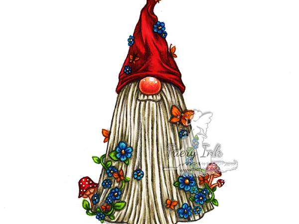 Tutorial Tuesday - Tomte Gnome Butterflies, A Chat on Constructive Criticism and a Challenge for you =)