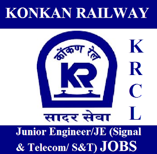 Konkan Railway Corporation Limited, KRCL, Konkan Railway, Junior Engineer, JE, Graduation, Railway, RAILWAY, Maharashtra, freejobalert, Sarkari Naukri, Latest Jobs, krcl logo