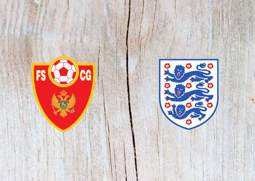 Montenegro vs England Full Match & Highlights 25 March 2019