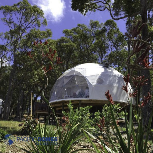Portable Dome House : Shelter domes dome homes by pacific
