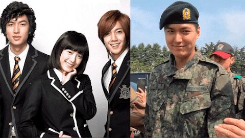 """Noticias de Doramas: """"Lee Min Ho"""" manda un saludo mientras cumple su servicio militar 9 Abril"""