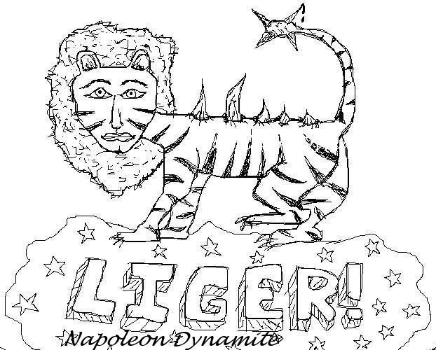 liger coloring pages - photo #1