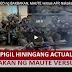 MUST WATCH! ACTUAL VIDEO ng BAKBAKAN, MAUTE versus AFP, Nakakapigil HININGA