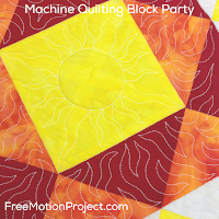 Machine Quilting Block Party with Leah Day