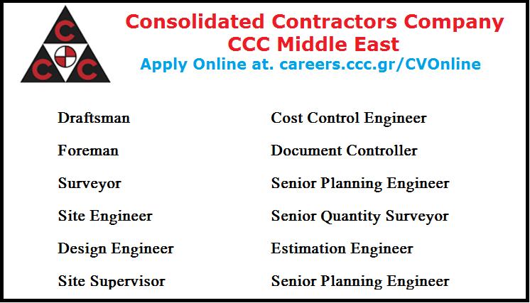 Consolidated Contractors Company Jobs Qatar - Inspirational