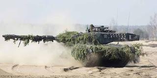 Jerman Kirim Leopard ke Perbatasan Baltic-Rusia