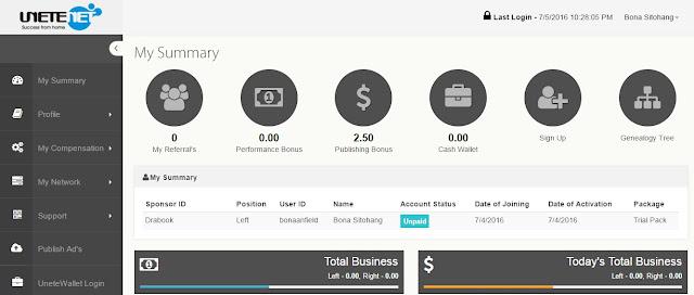 Cara Mendapatkan Uang $100 USD Dari Unetenetglobal