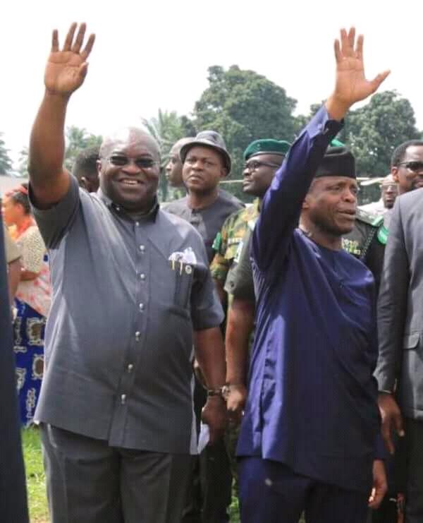 Multi-Party Democracy: Osibanjo, Ikpeazu As Role Models