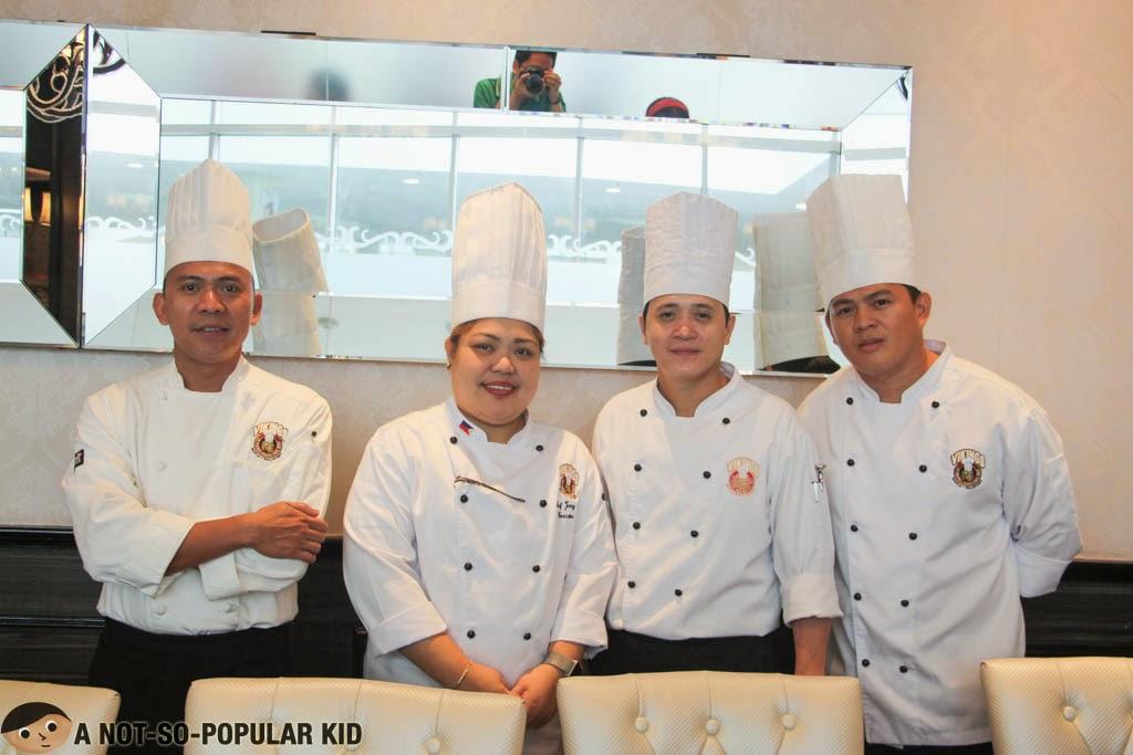 Amazing chefs of SM North Edsa Vikings
