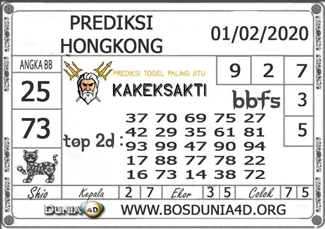 Prediksi Togel HONGKONG DUNIA4D 01 FEBRUARI 2020