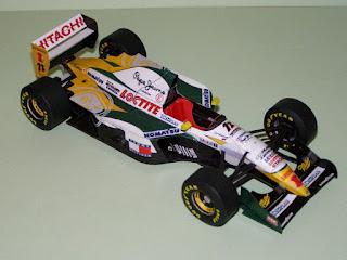 Lotus 107C - Johnny Herbert - San Marino GP 1994 (M Fabian)