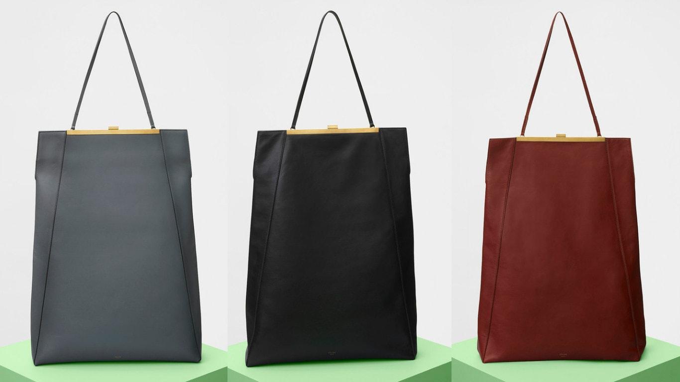 513f214a33 CÉLINE – Bags Spring Summer 2017 - FashionR