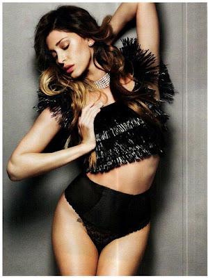 Belen Rodriguez Vanity Fair Italy Magazine