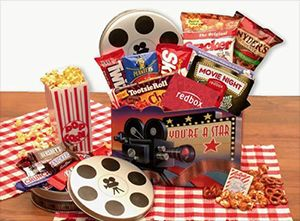 Enter To Win A Movie Night Gift Basket!