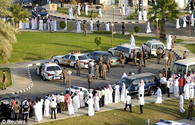 Public flogging in Saudi Arabia (file photo)