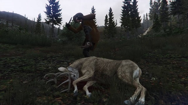 Hunting in Red Dead Redemption 2
