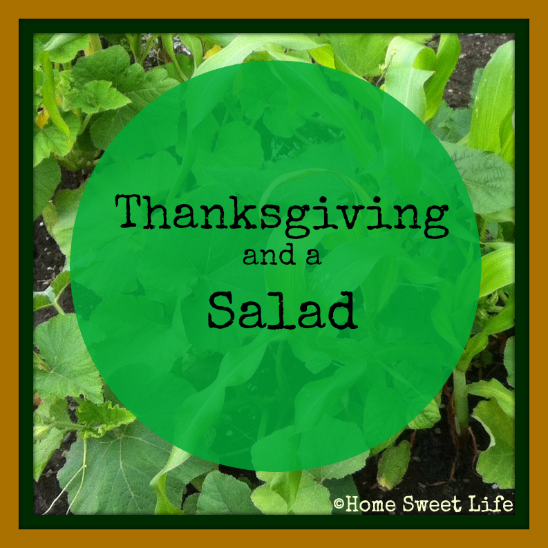 Thanksgiving dinner, salads, dietary restrictions, guests