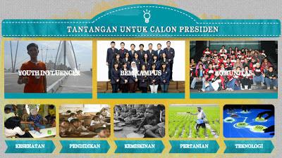tantangan untuk calon presiden 2014