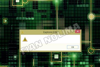 Cara Memperbaiki Error Explorer.exe Blank Message Startup Windows 8/8.1/10