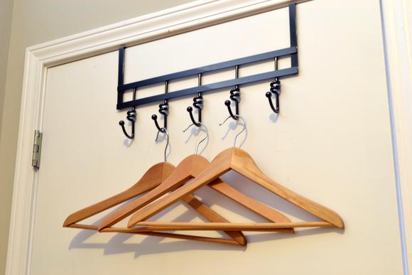 Empty Wood Hangers