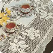 "Mantel ""Orquideas"" a Crochet"