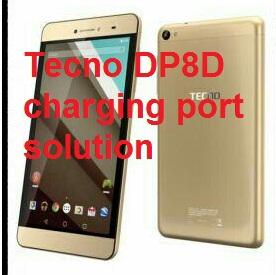 How to repair Tecno DP8D charging port solution
