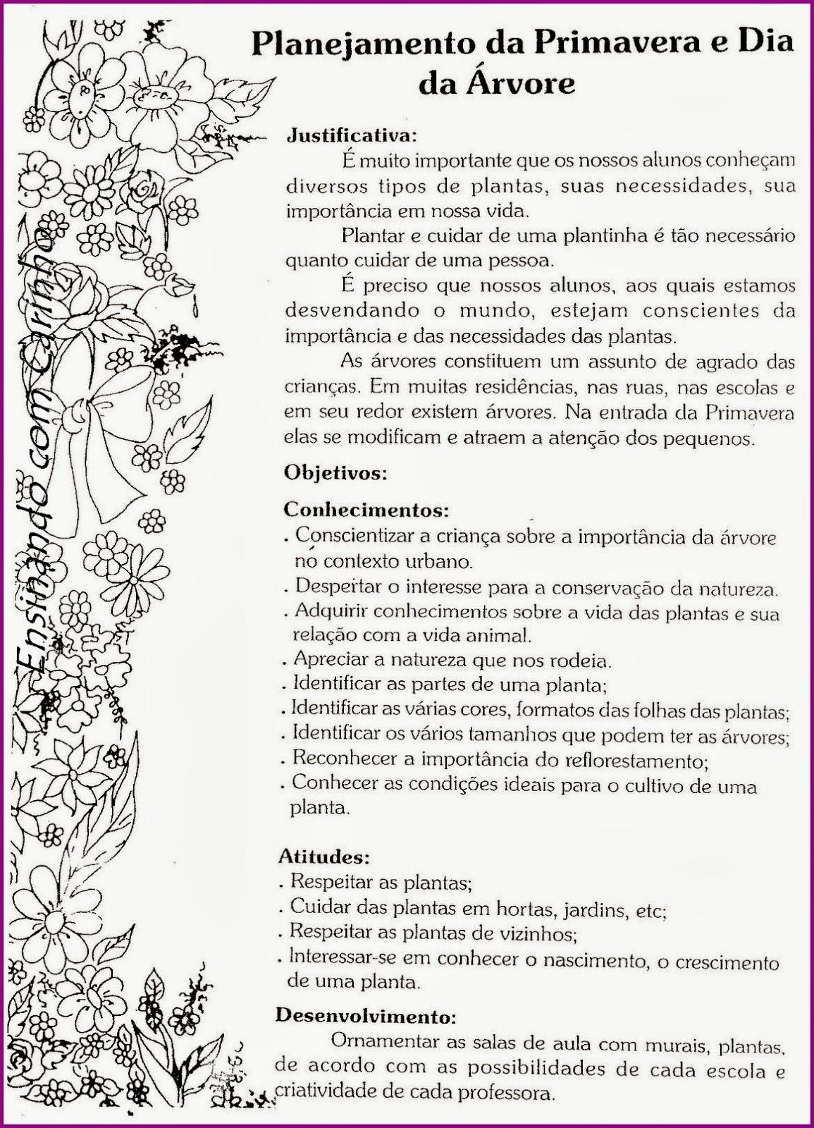 Preferência www.canal-educar.net: Projeto Primavera e dia da árvore ZZ74
