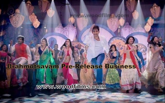 Mahesh Babu Brahmotsavam Movie Pre-Release Business