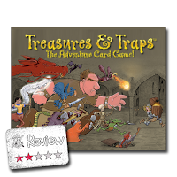 Frugal GM Review: Treasures & Traps Card Game