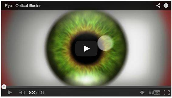 Video Unik Aneh, Eye - Optical illusion