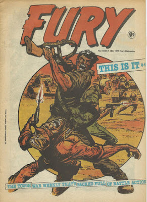 Marvel UK, Fury #10